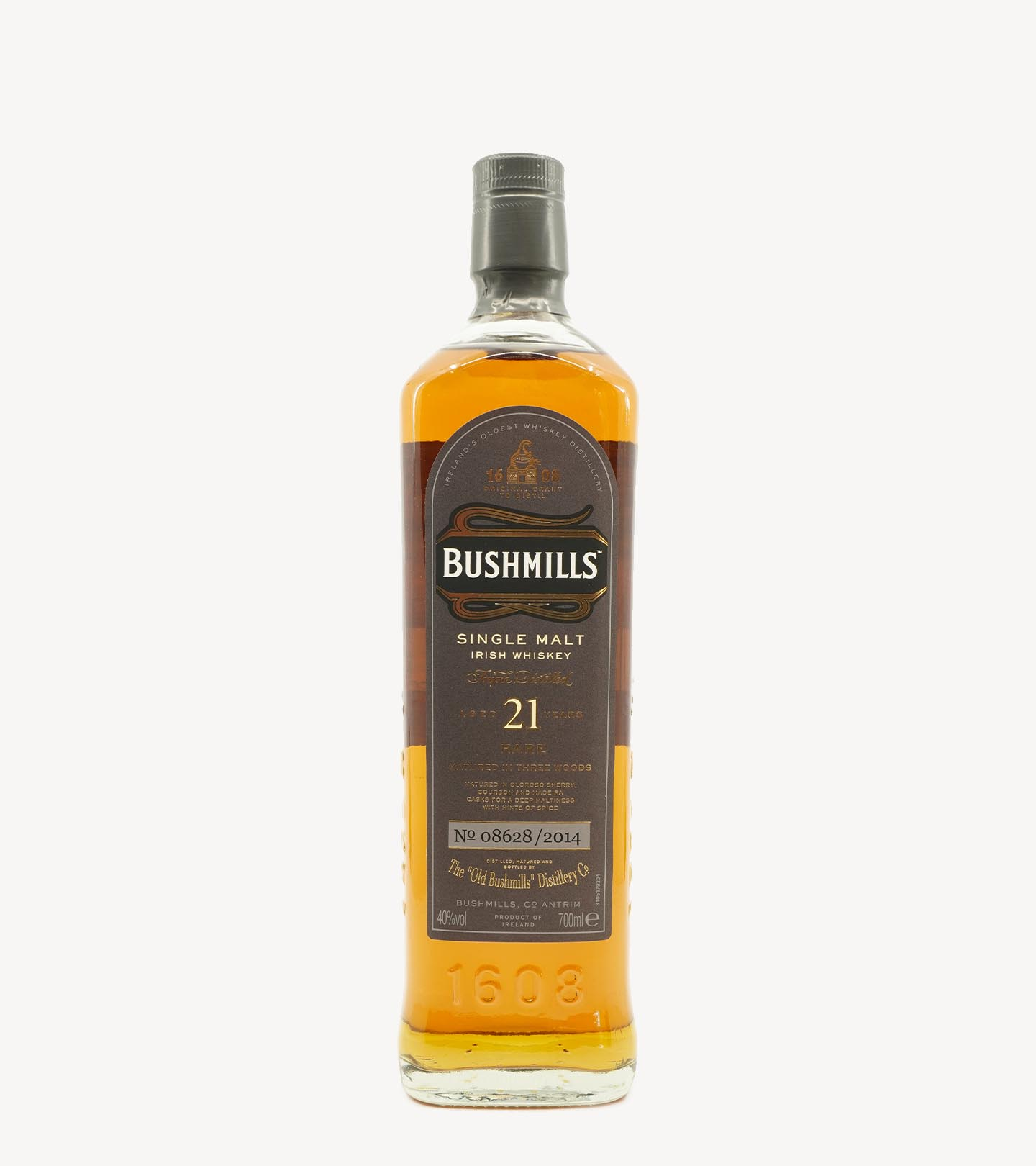 Whisky Malte Old Bushmills 21 Anos 70cl