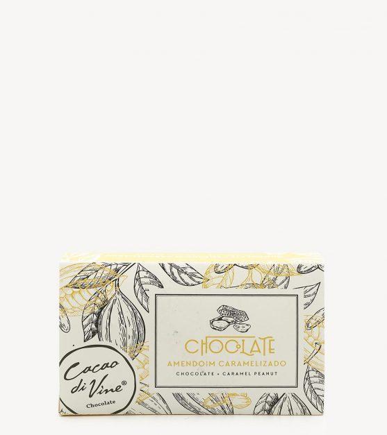 Bombons de Chocolate Negro c/ Amendoim e Caramelo Cacaodivine 75g