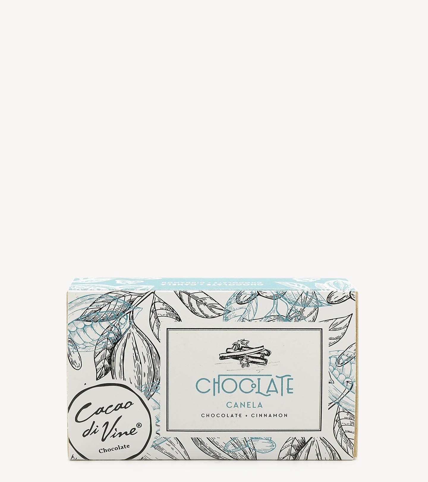 Bombons de Chocolate Negro c/ Canela CacaoDivine 75g