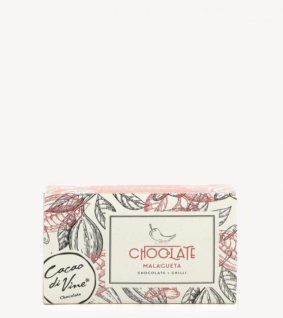 Bombons de Chocolate Negro c/ Malagueta CacaoDivine 75g