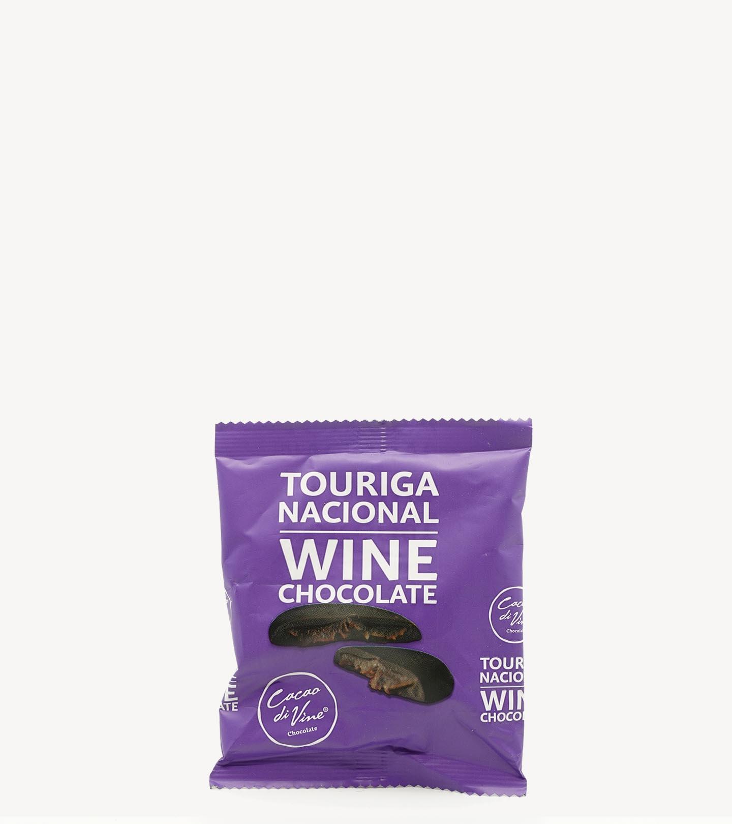 Bombons de Chocolates de Vinho Touriga Nacional Cacaodivine 40g