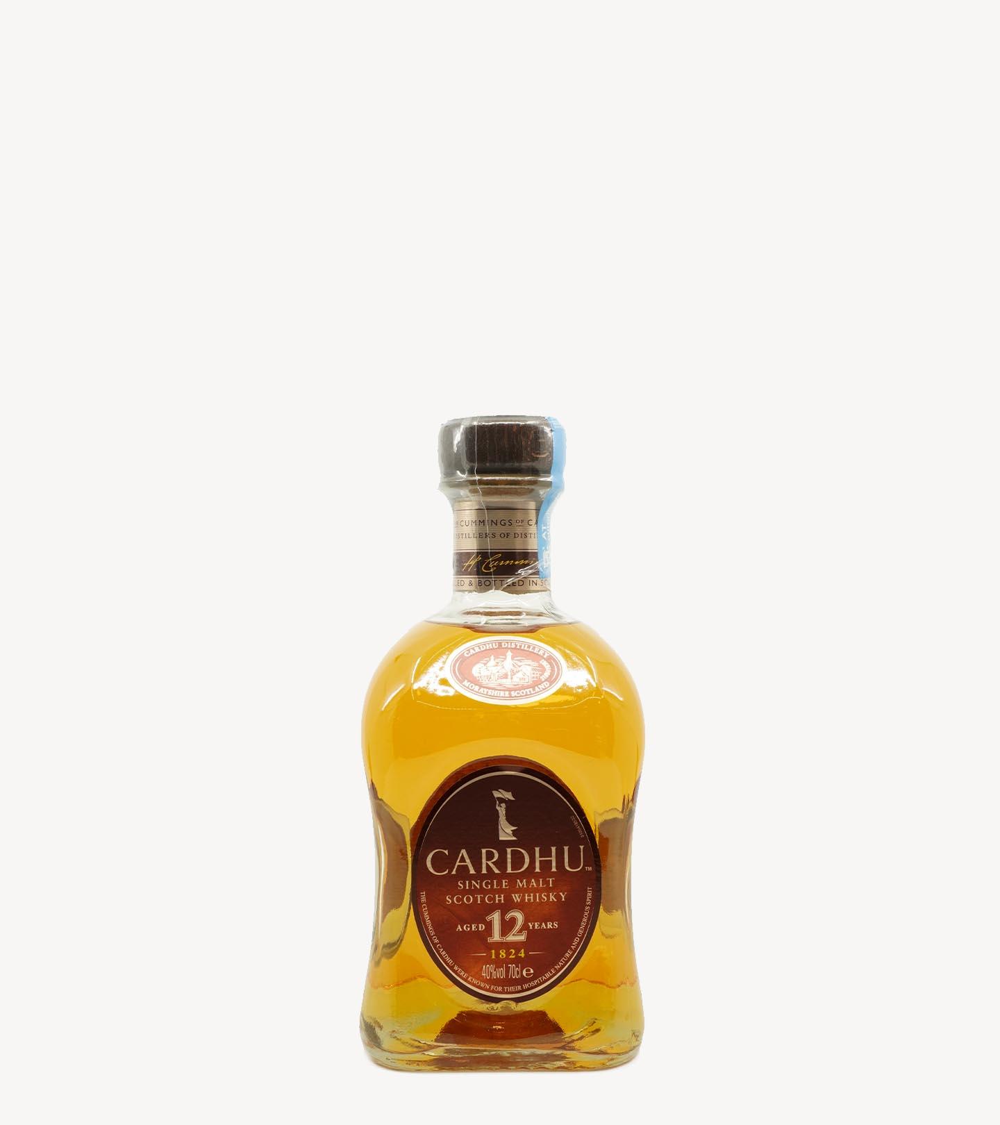 Whisky Cardhu 12 Anos 70cl