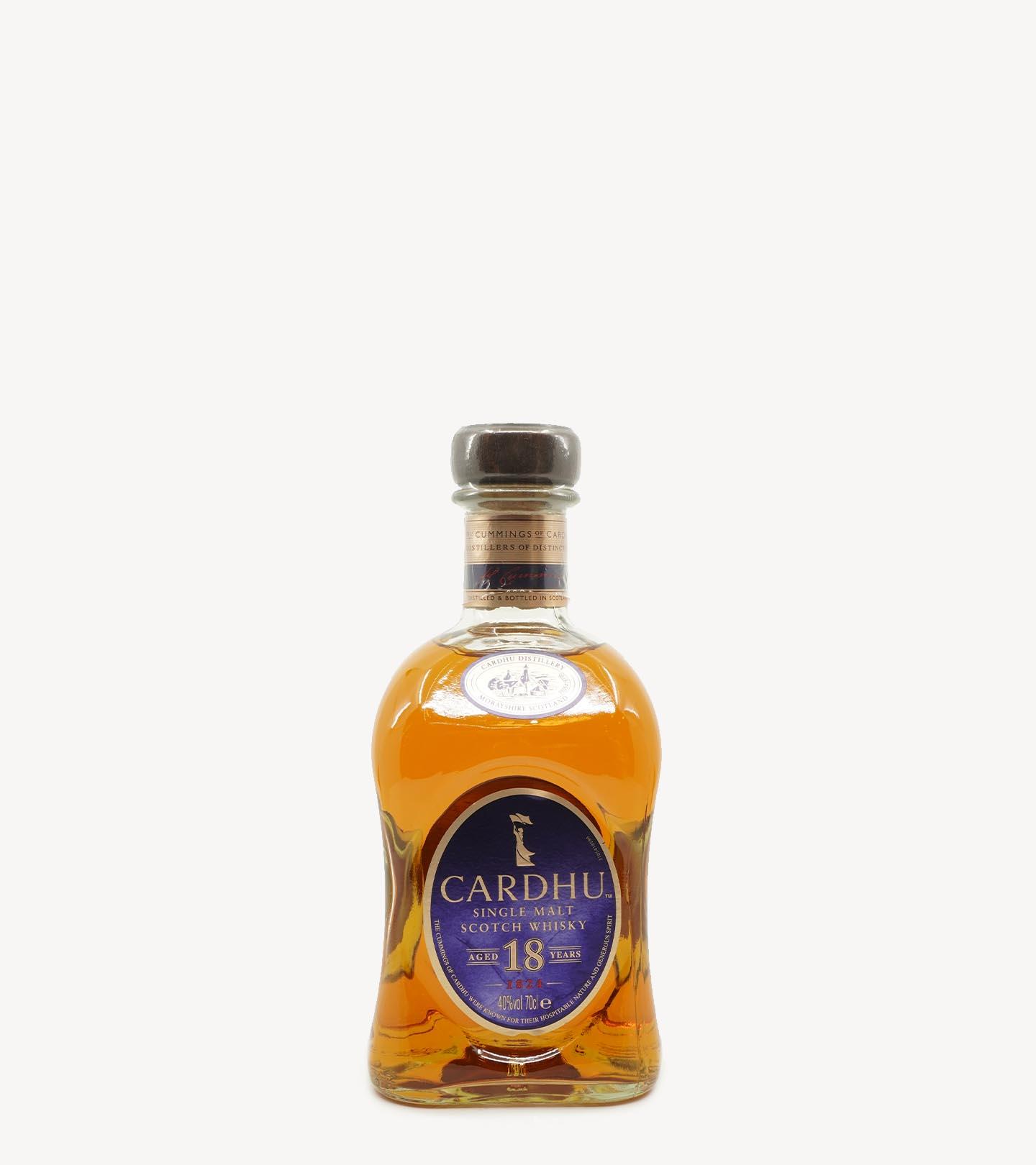 Whisky Cardhu 18 Anos 70cl