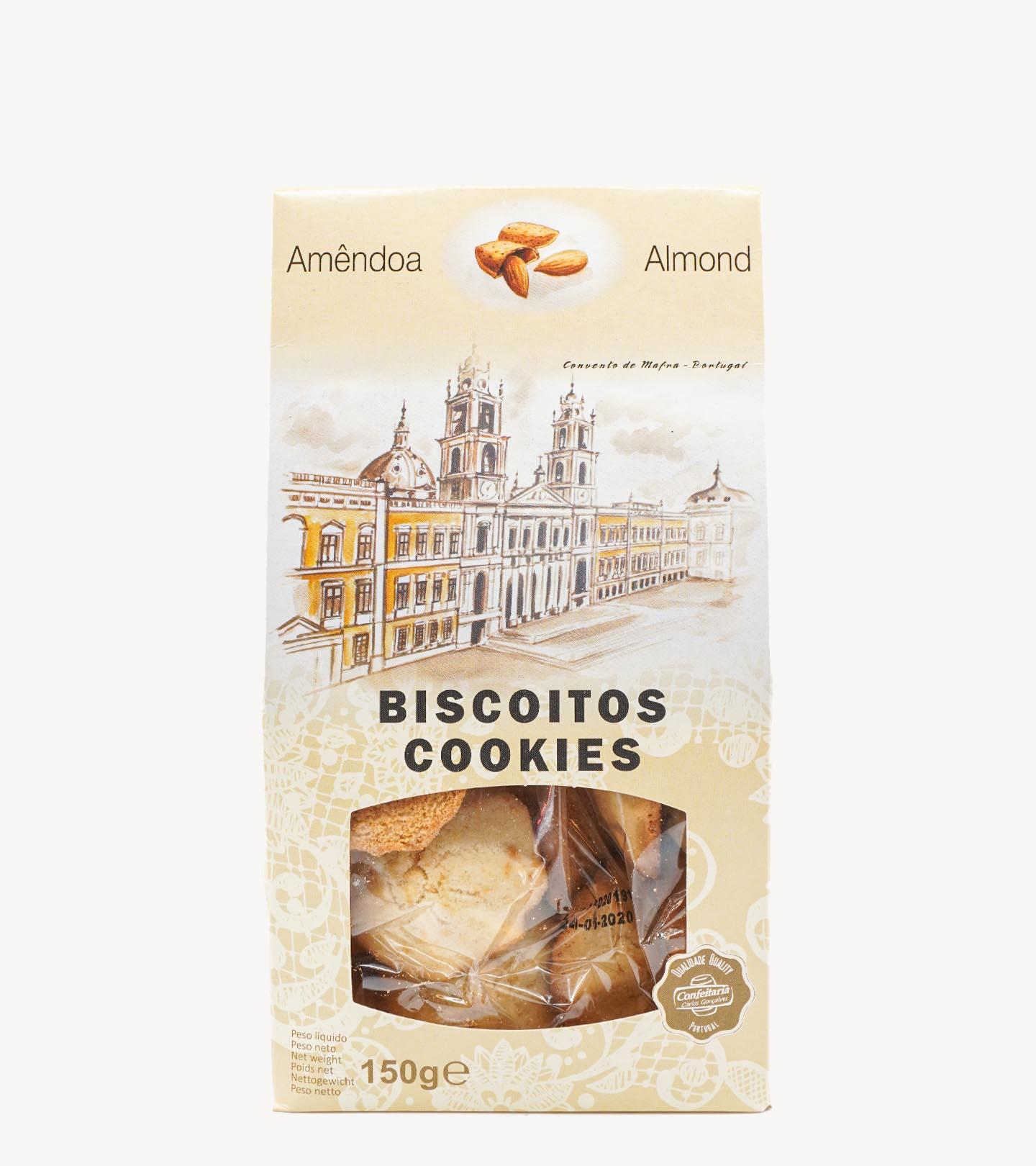 Biscoitos de Amêndoa Confeitaria Carlos Gonçalves 150 g