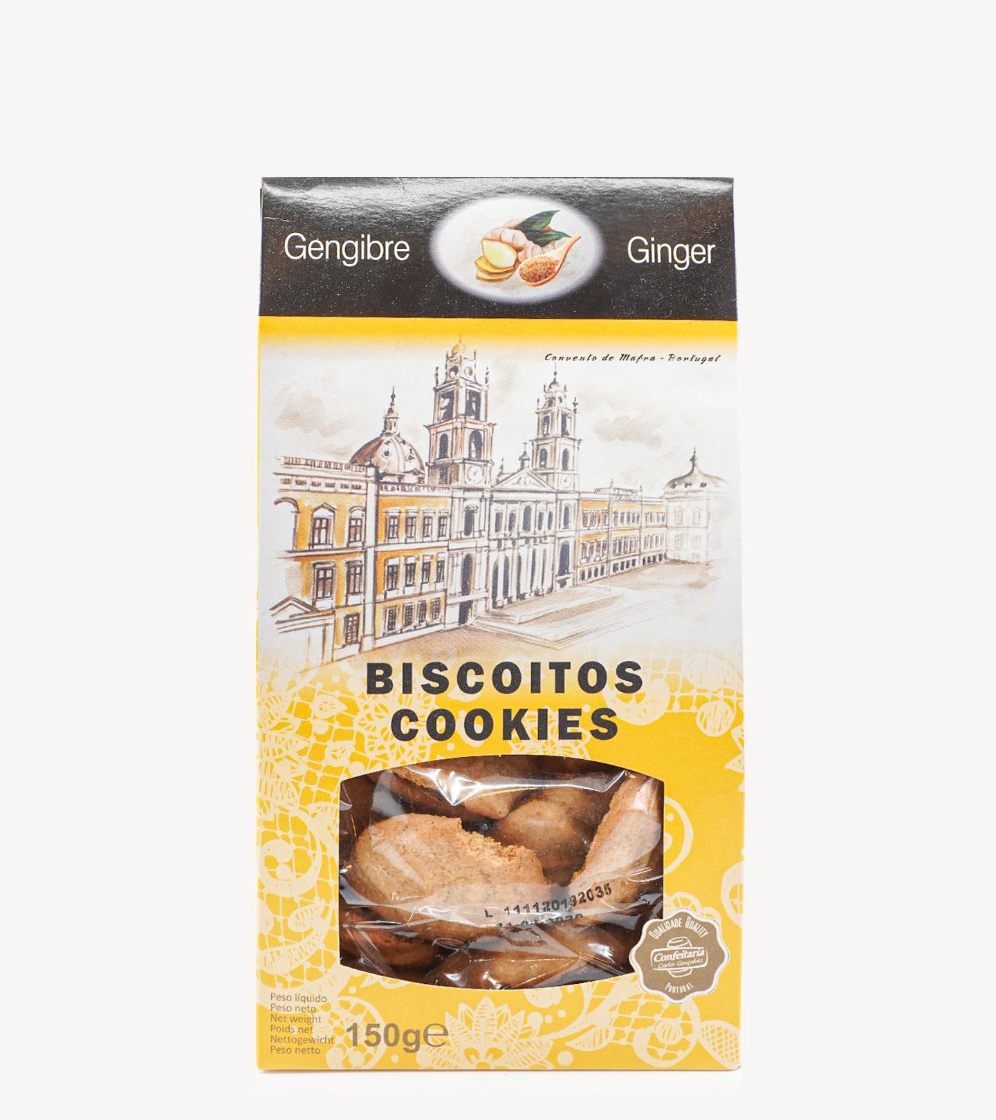 Biscoitos de Gengibre Confeitaria Carlos Gonçalves 150 g