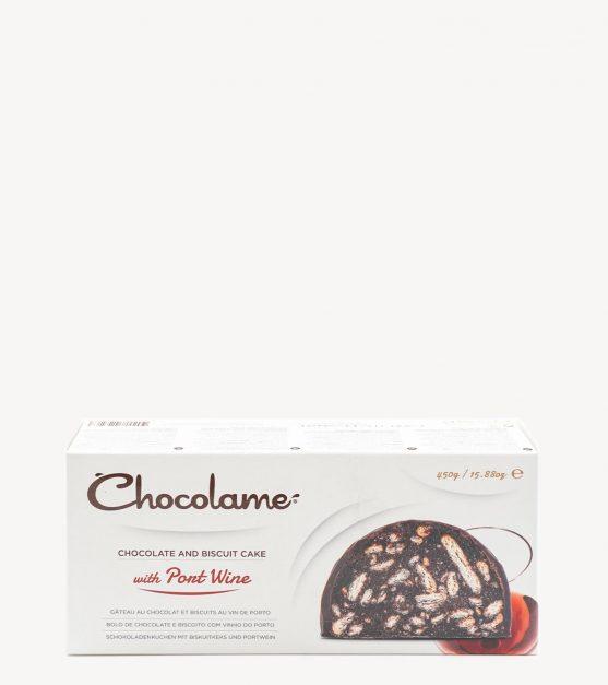 Salame de Chocolate c/ Vinho do Porto Chocolame 450g