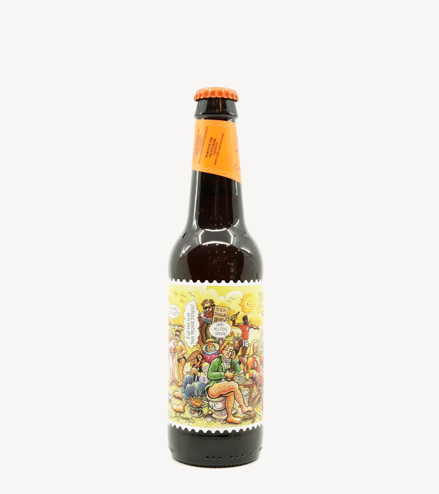 Cerveja de Trigo Artesanal Edição Portugal Cinco Chagas 33cl