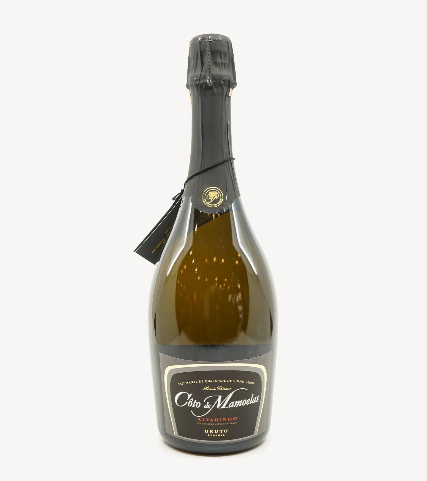 Espumante de Vinho Verde Alvarinho Reserva Bruto Côto de Mamoelas 75cl