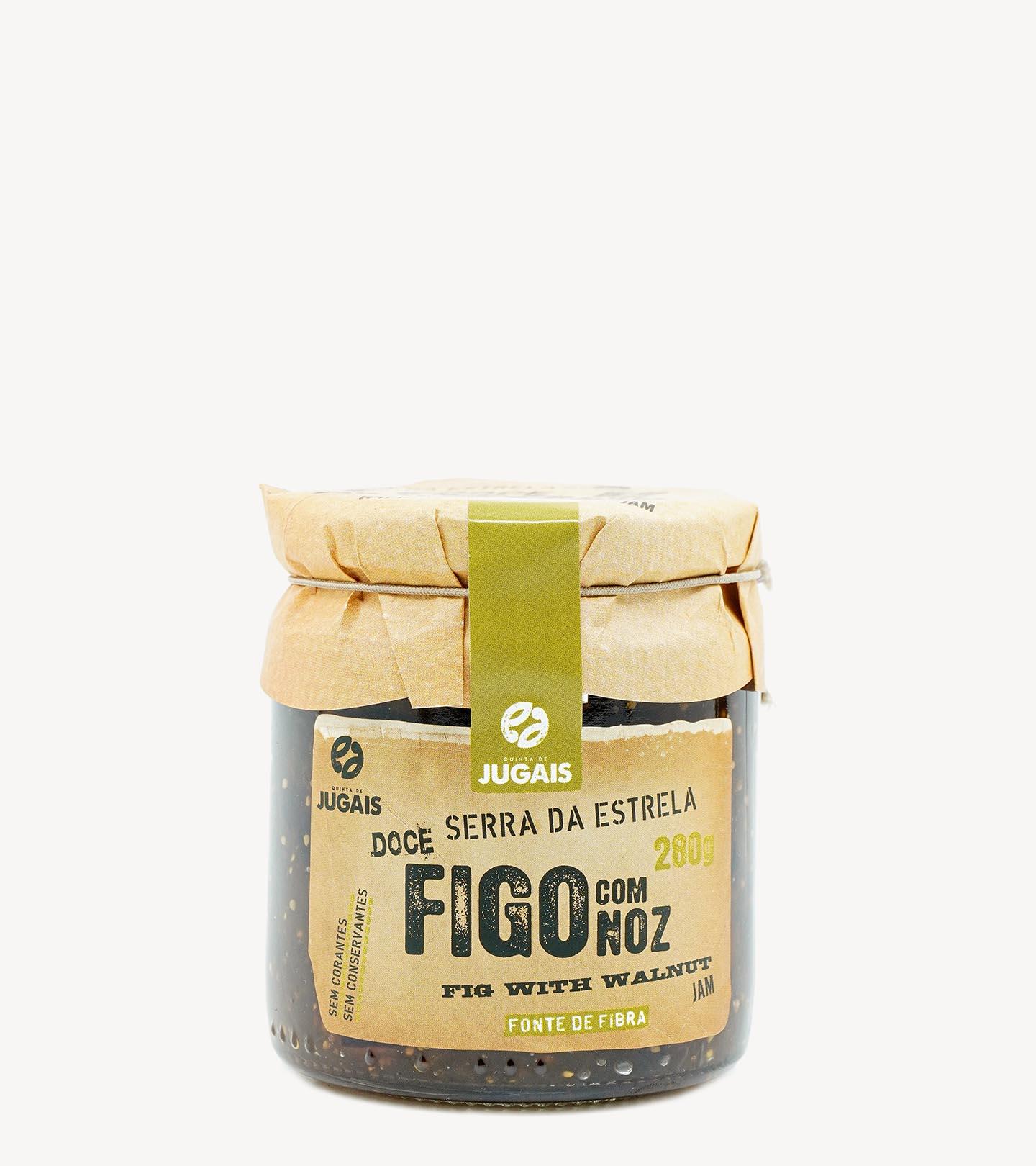 Compota Figo e Nozes Quinta de Jugais 280g