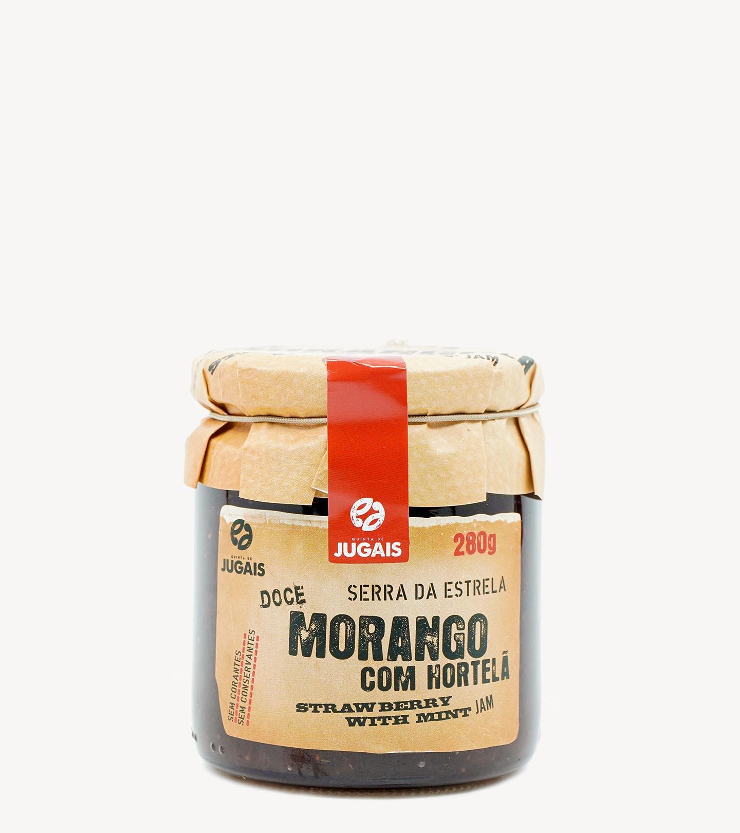 Compota Morango e Hortelã Quinta de Jugais 280g