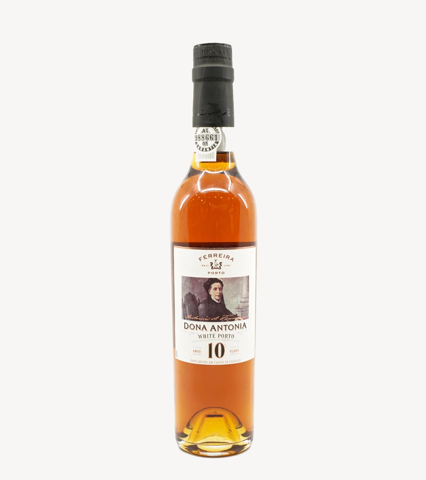 Vinho do Porto Ferreira Dona Antónia Branco 10 Anos 37.5cl