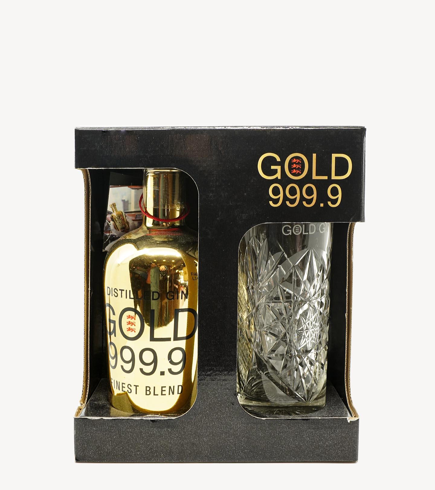 Gift Gin Gold 999.9 c/ Copo 70cl