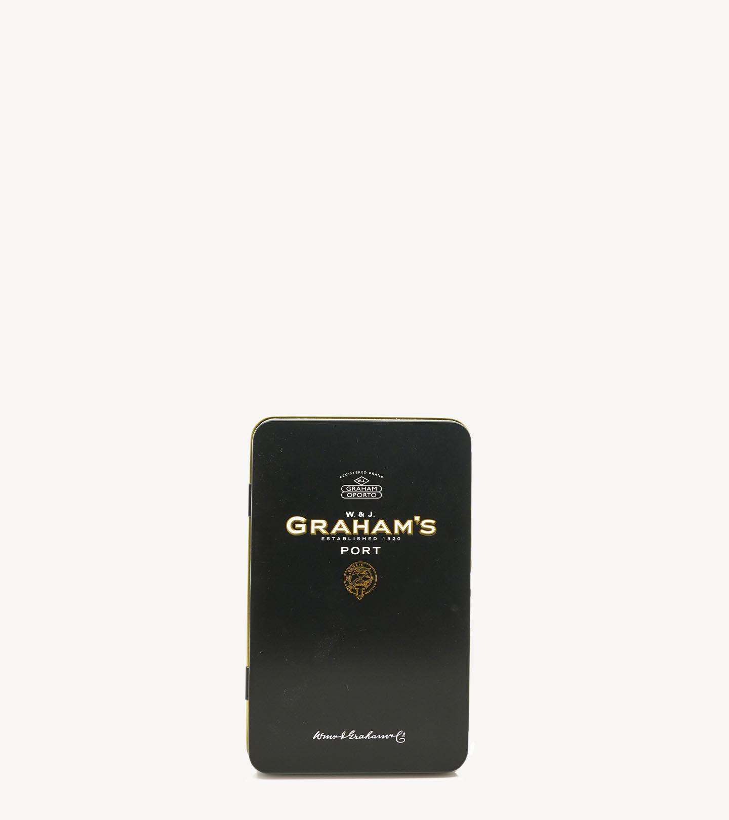 Gift Vinho Porto Graham's Mini Pack LBV+10 anos 2x5cl