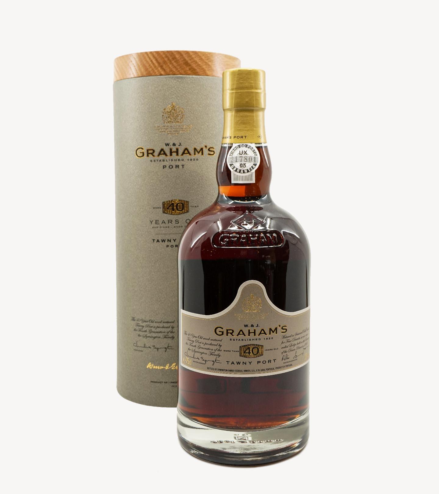 Vinho Porto Graham`s 40 Anos 75cl