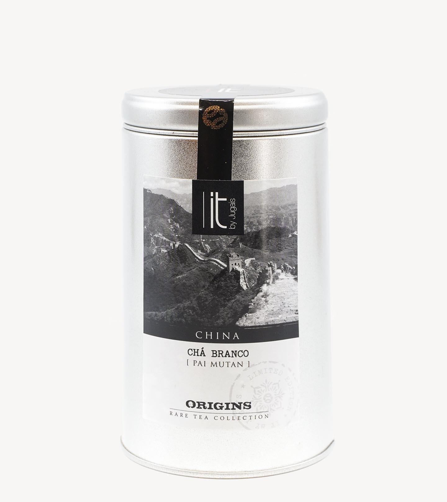 Chá Branco Pai Mu Tan Origens China It-Tea 100g