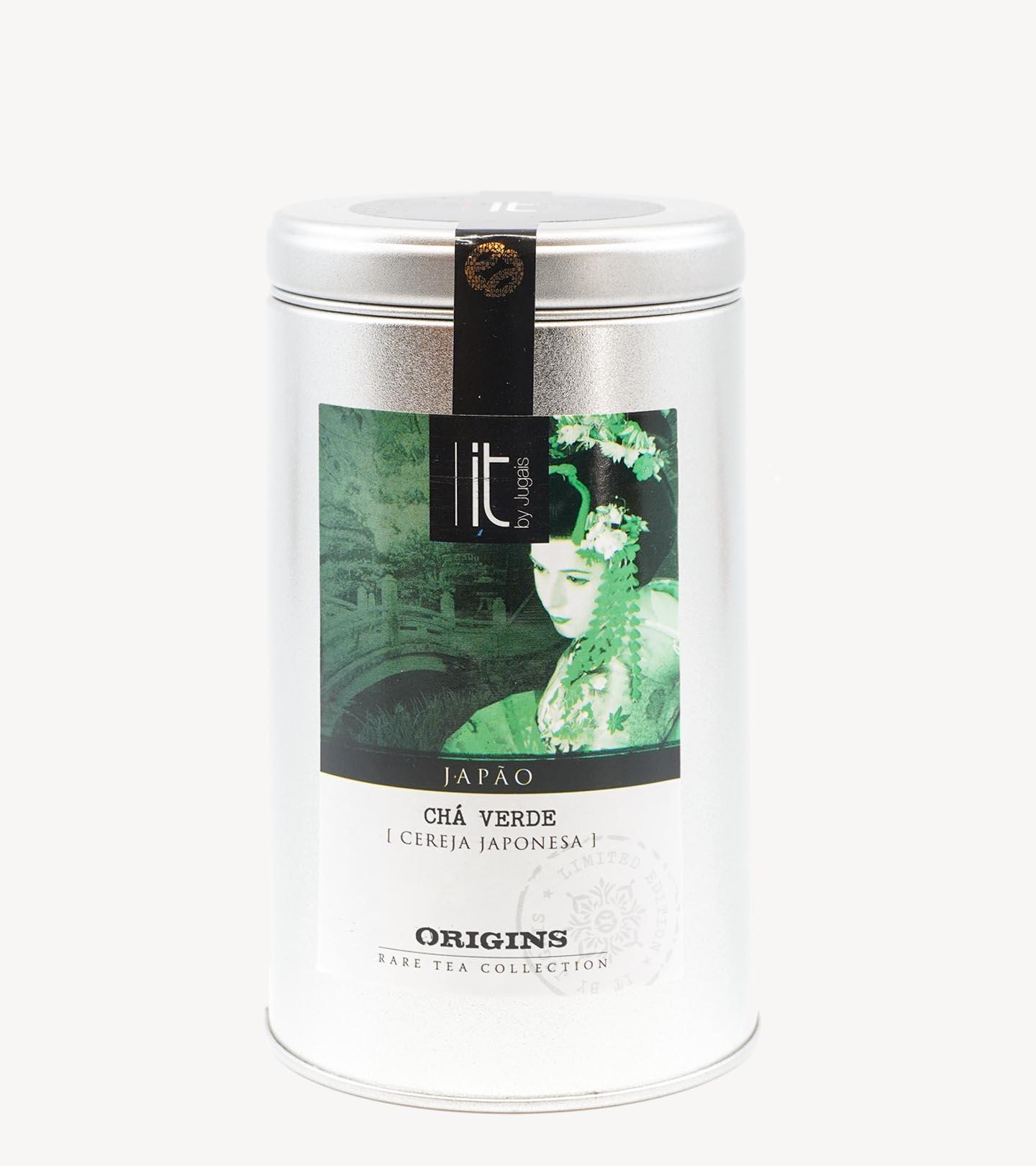 Chá Verde de Cereja Japonesa Origens Japão It-Tea 100g