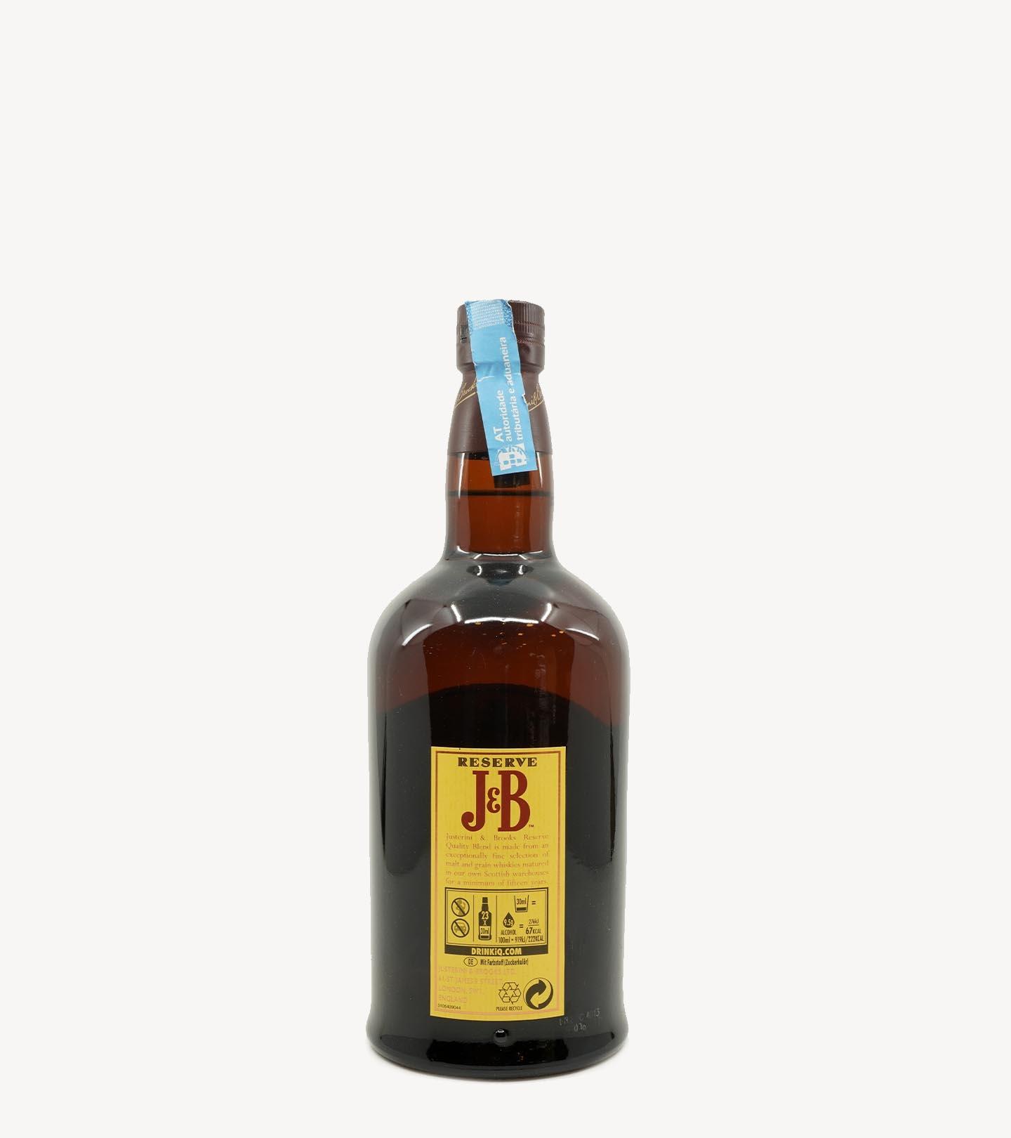 Whisky J&B 15 Anos Reserve 70cl