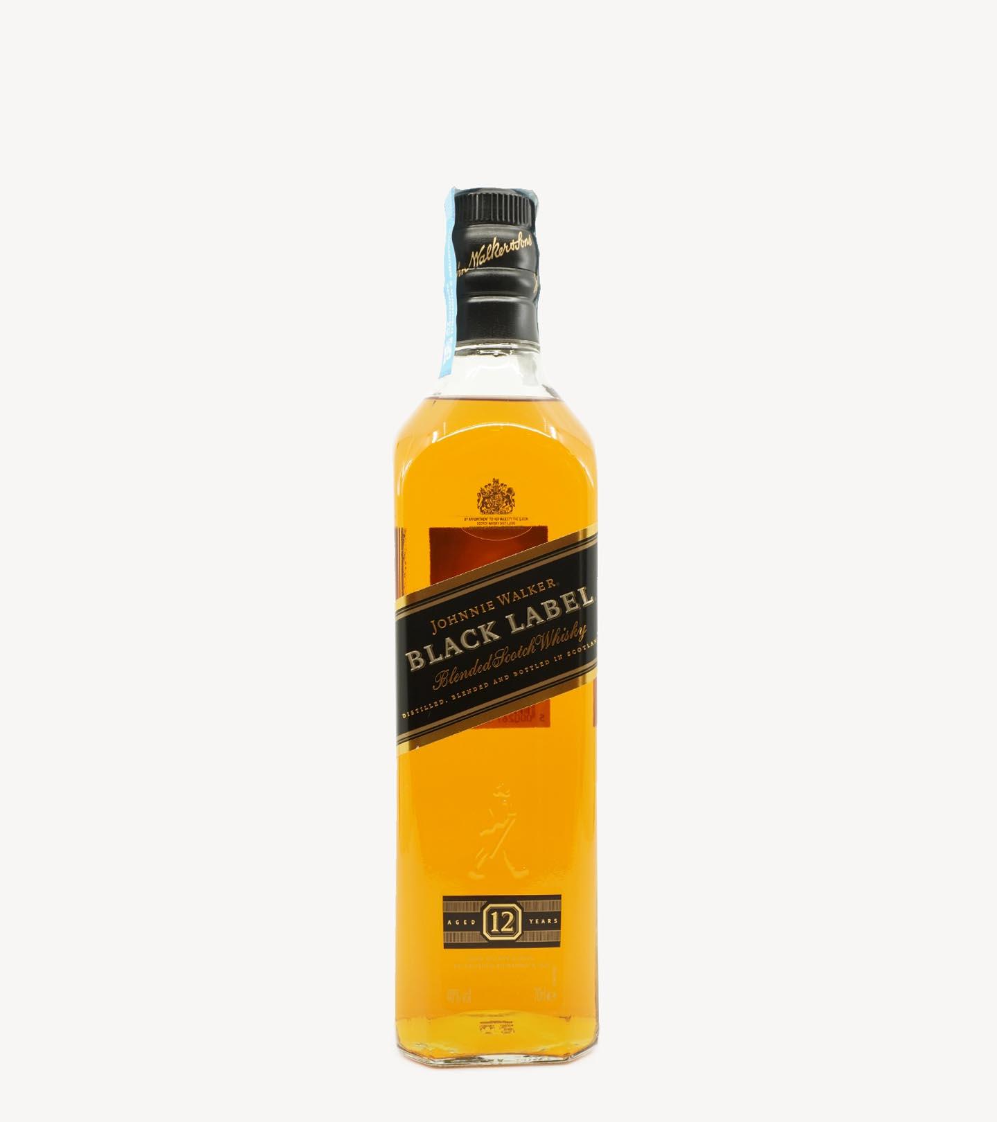 Whisky Johnnie Walker Black Label 12 Anos 70cl