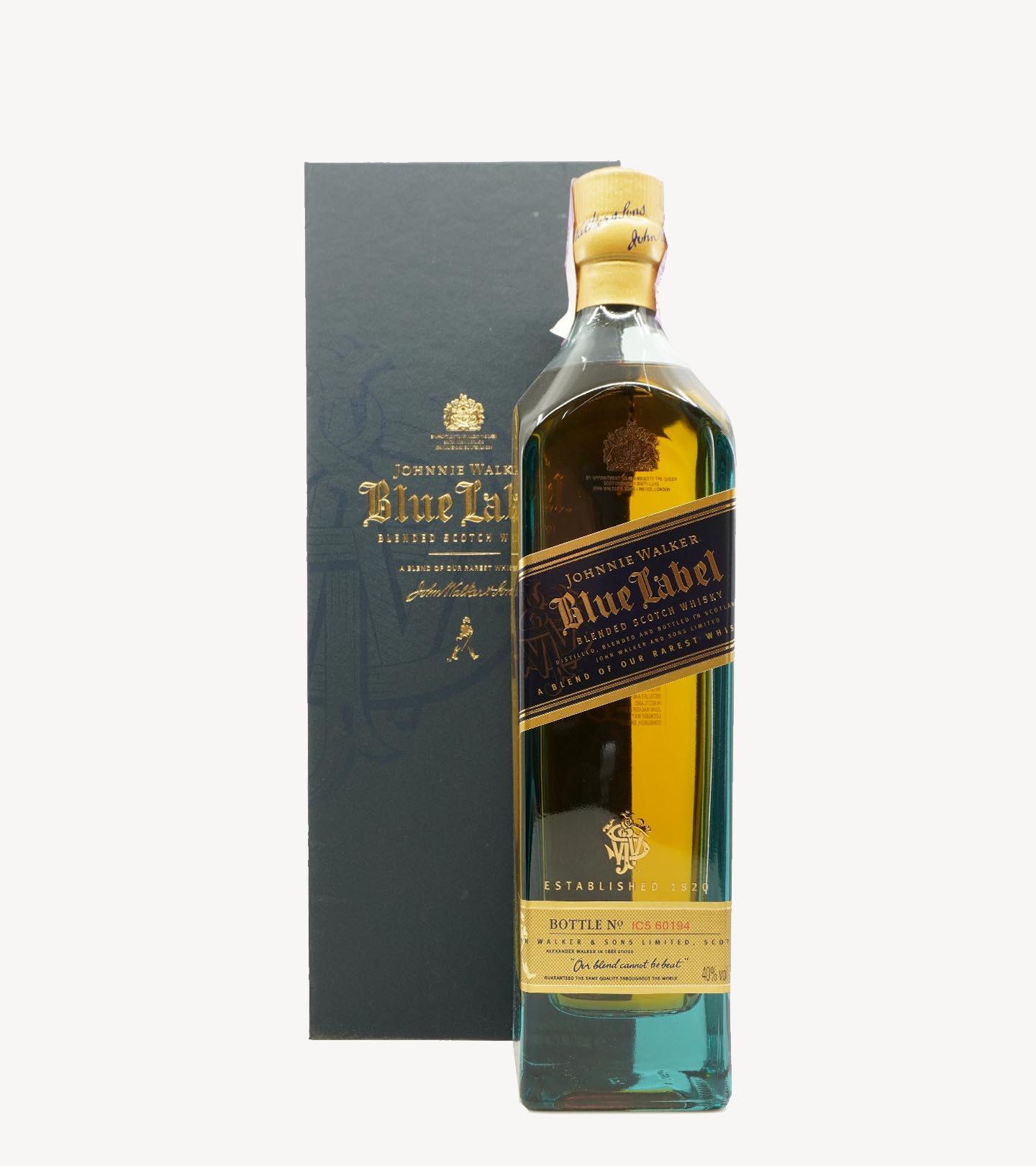 Whisky Johnnie Walker Blue Label 21 anos 75cl