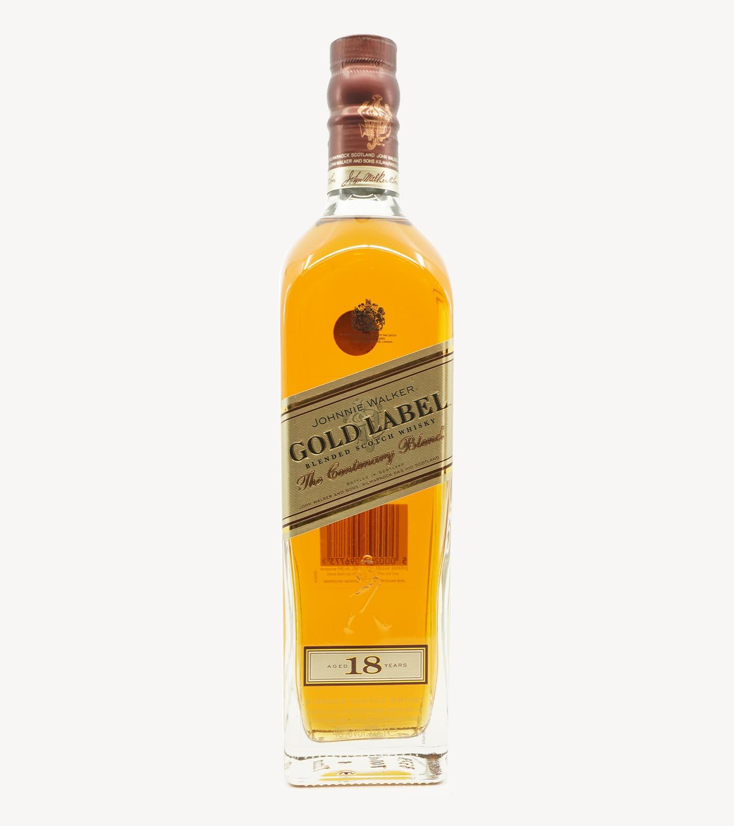 Whisky Johnnie Walker Gold Label 18 Anos 75cl
