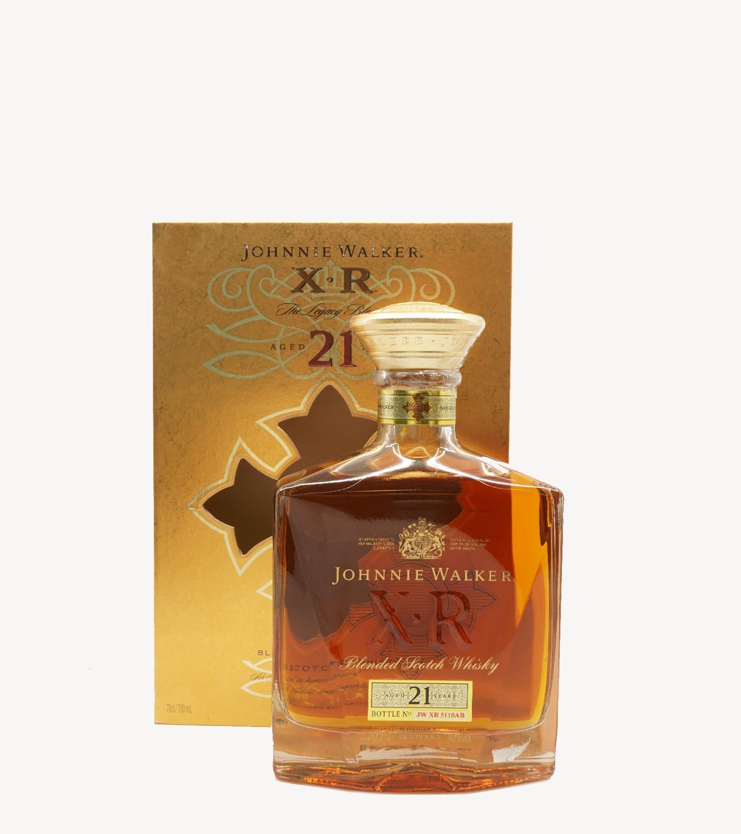 Whisky Johnnie Walker XR 21 anos 70cl