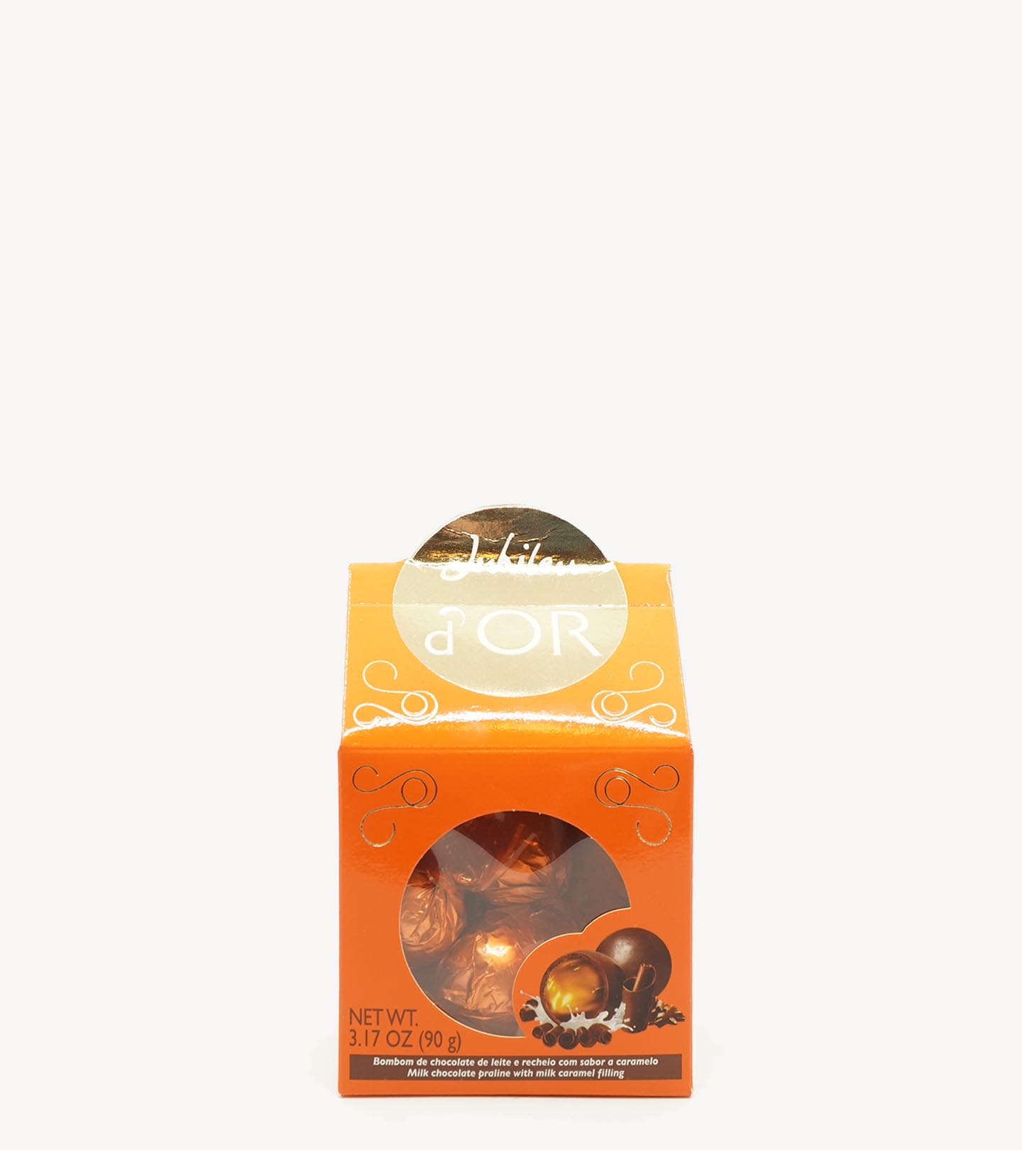 jubileu bombons dor laranja