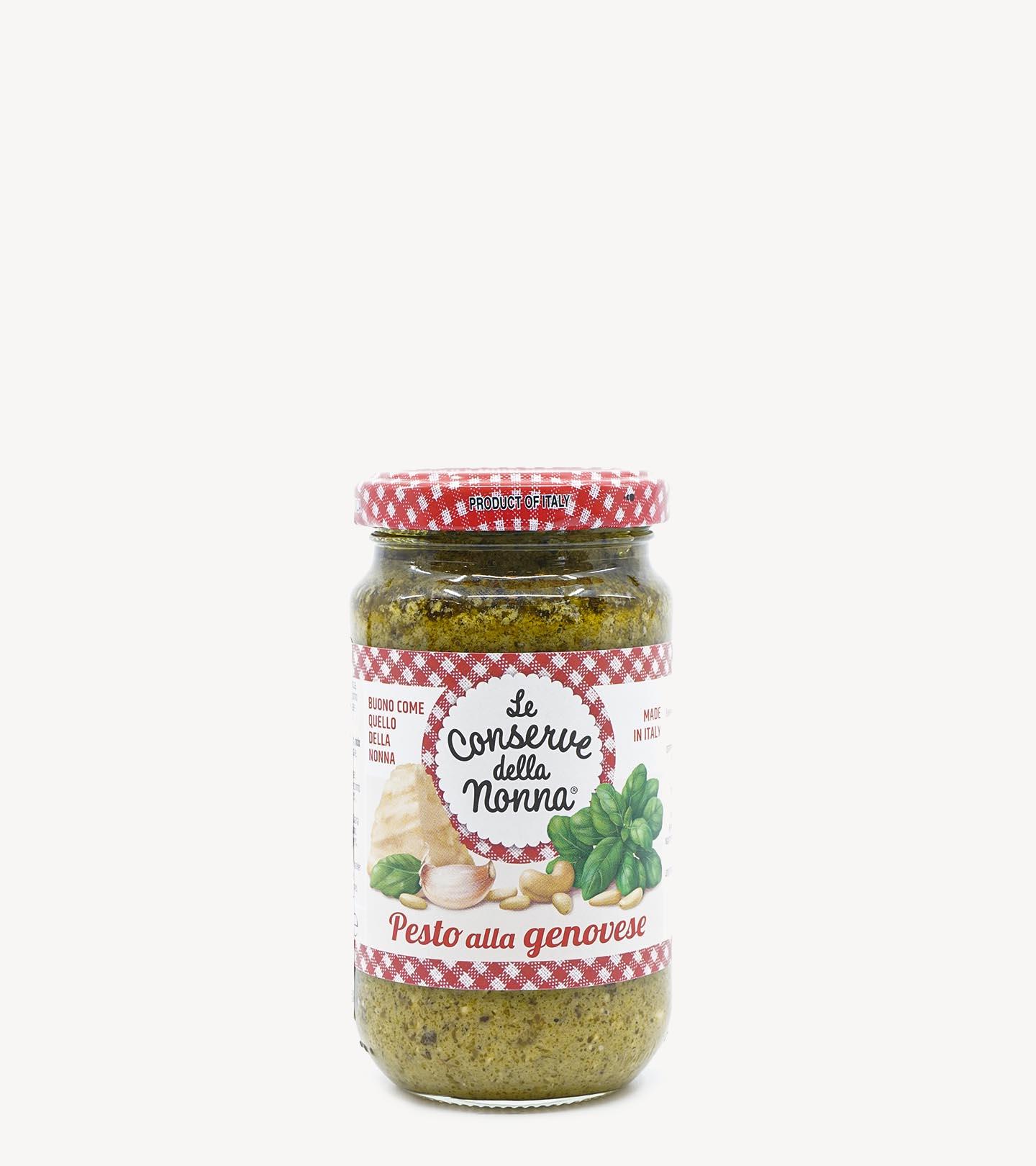 Molho Pesto à Genovese Le Conserve della Nonna 185g
