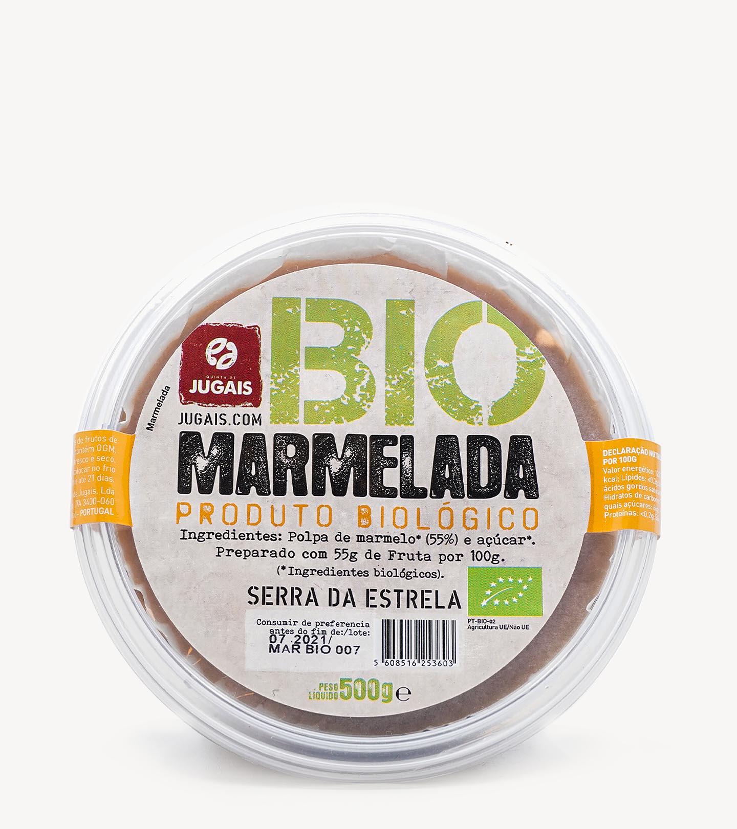 Marmelada Biológica Quinta de Jugais 500g