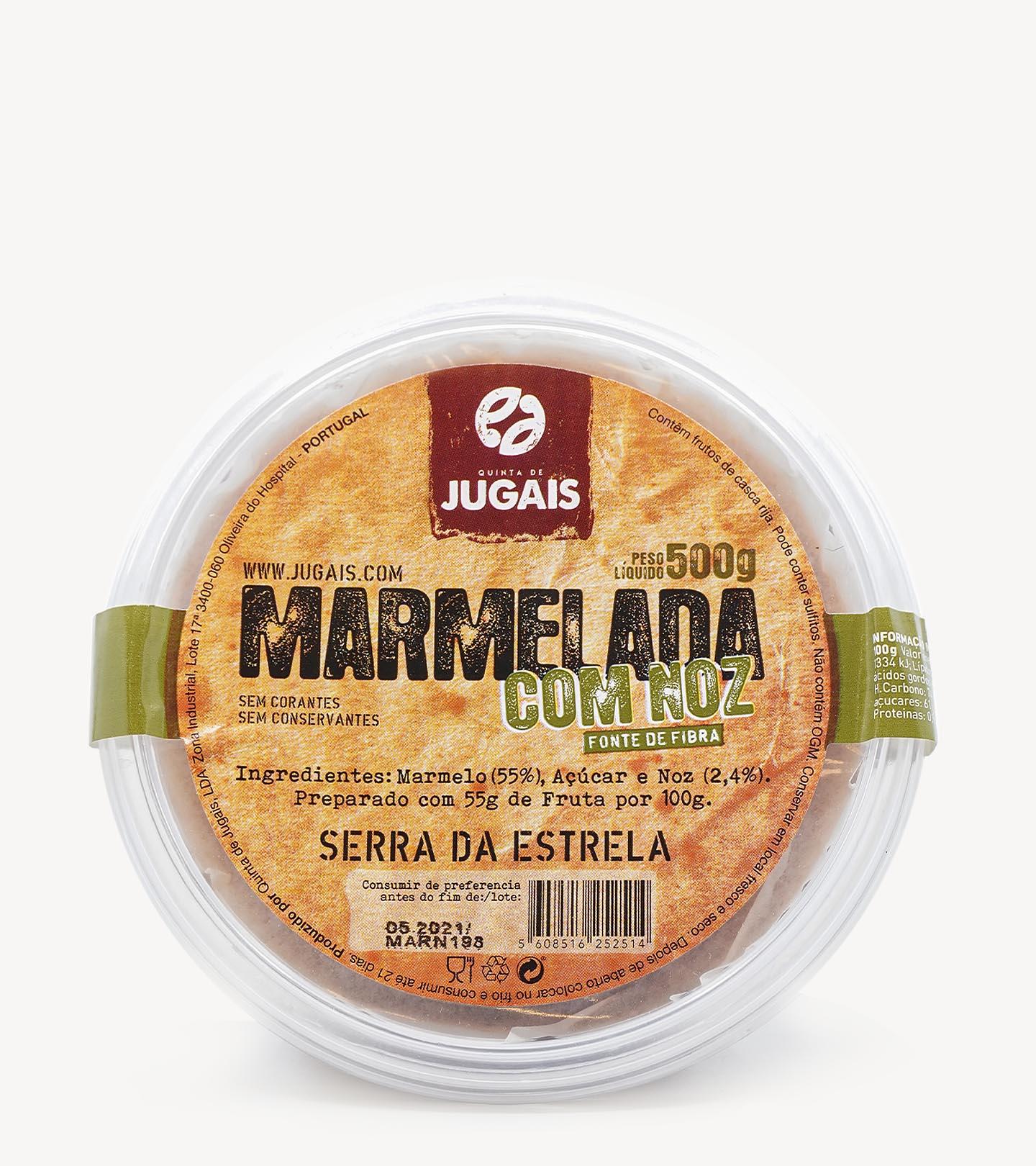 Marmelada com Noz Quinta de Jugais 500g