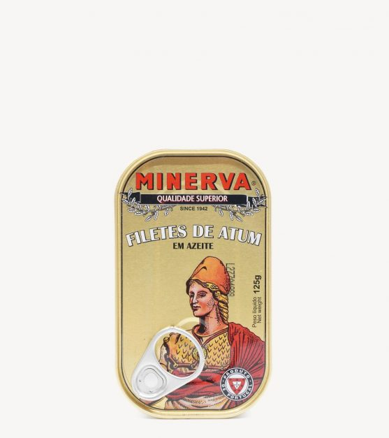 Filetes de Atum em Azeite Minerva 120g