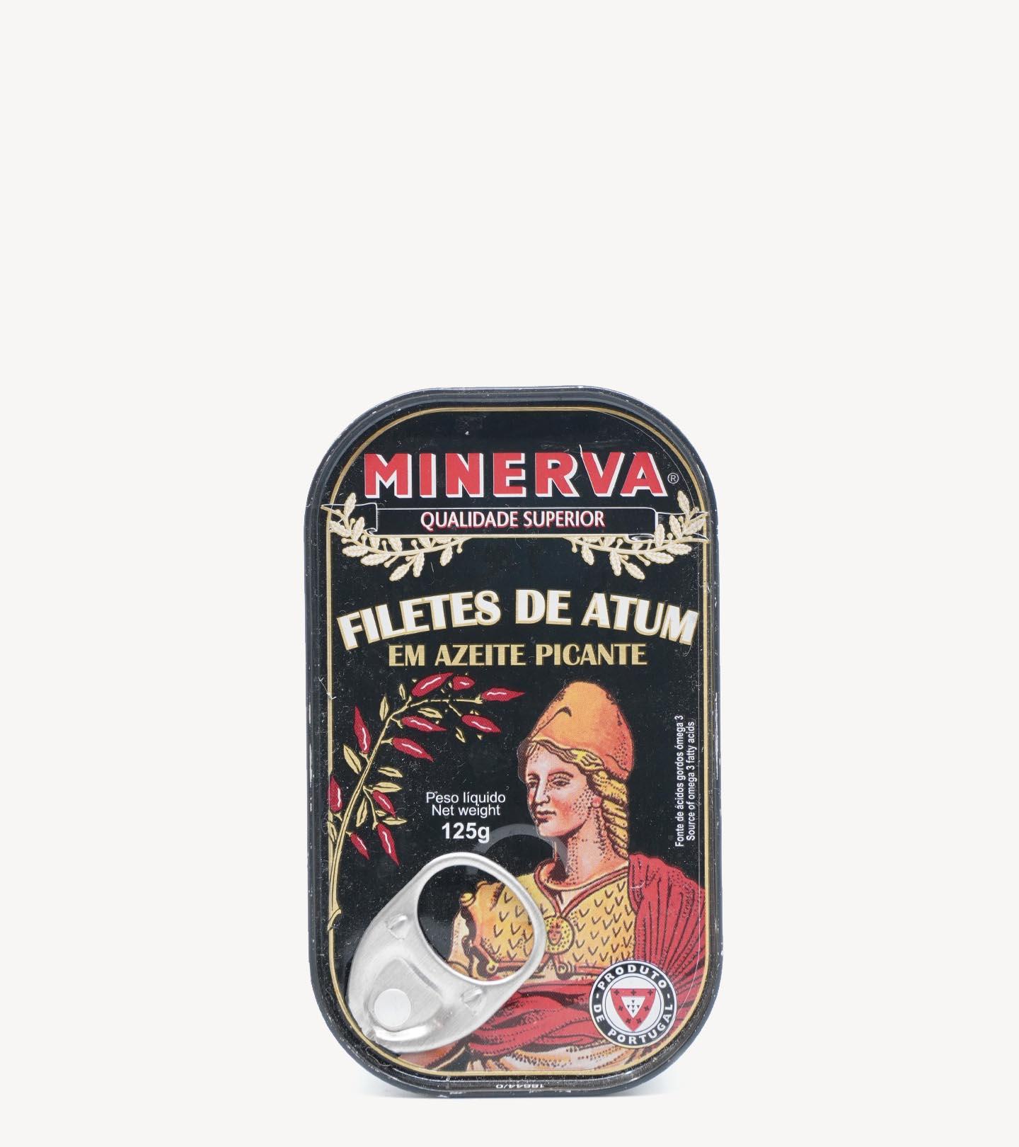 Filetes de Atum em Azeite Picante Minerva 125g
