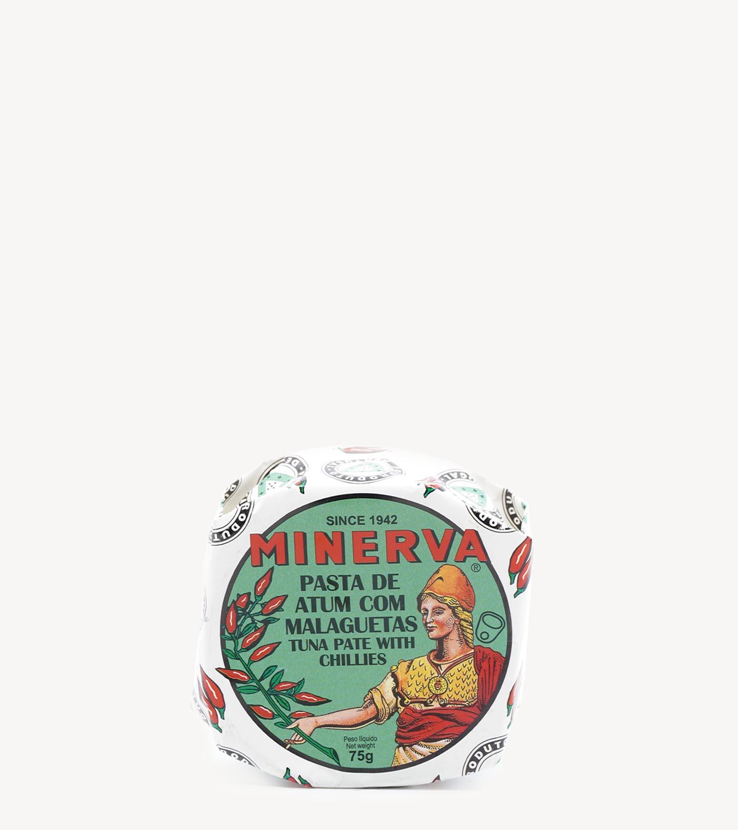 Patê de Atum com Malaguetas Minerva 65g