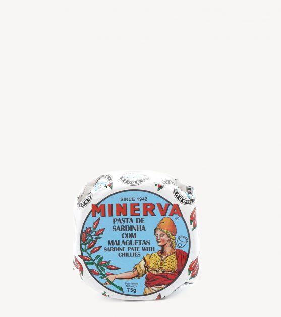 Patê de Sardinha com Malaguetas Minerva 65g