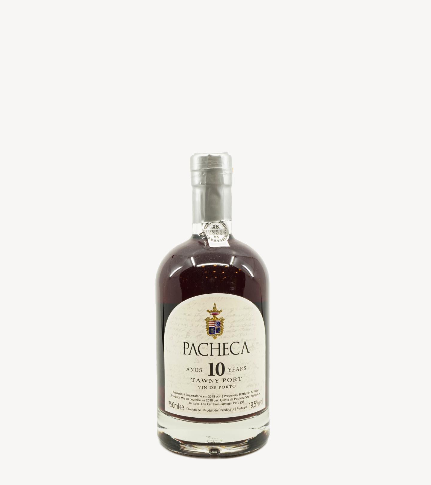 Vinho do Porto Quinta da Pacheca 10 Anos 75cl