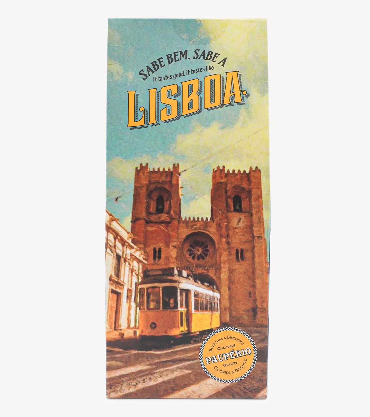 Biscoitos Paupério Edição Lisboa 200g