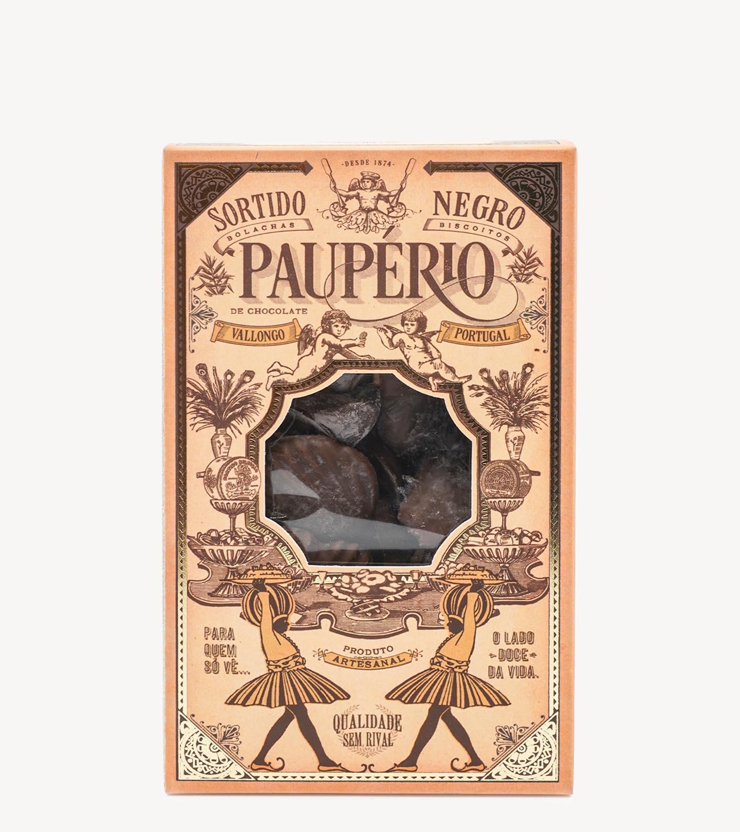 Biscoitos Sortido Negro Paupério 250g