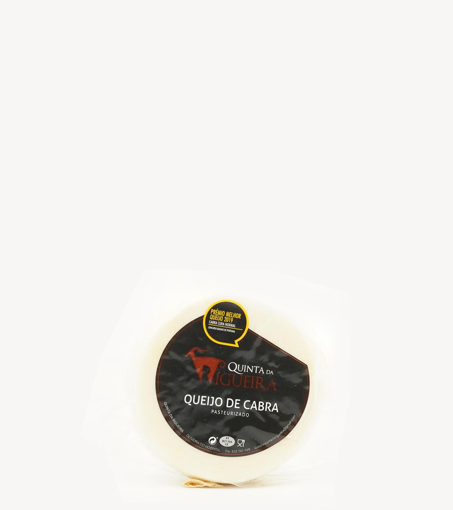 Queijo de Cabra Curado Quinta da Rigueira +/-500g