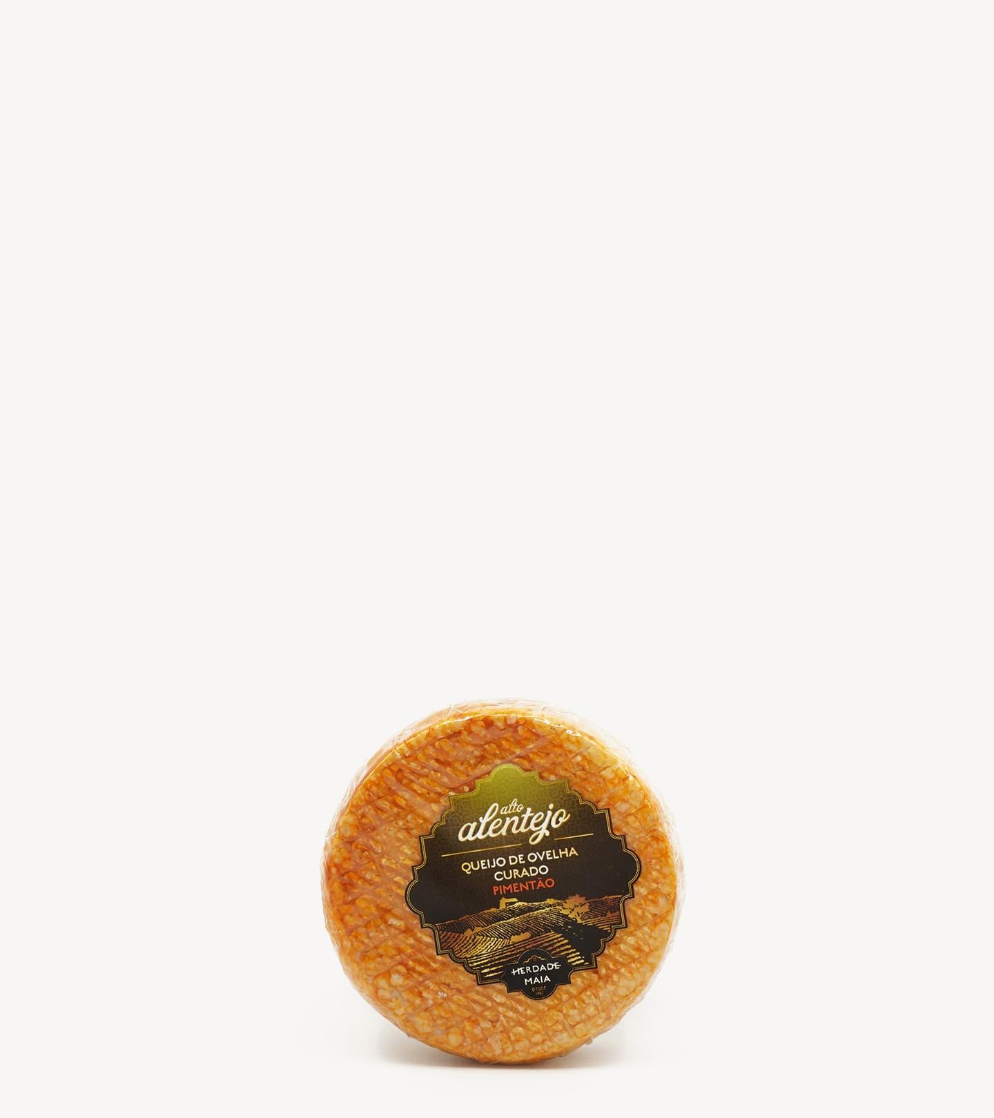 Queijo de Ovelha Curado c/ pimentão Herdade da Maia +/-250g