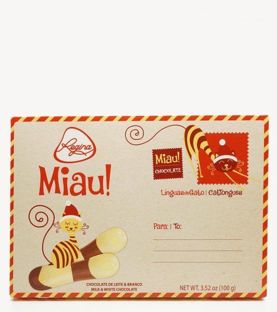 Linguas de Gato de Chocolate Regina 100g