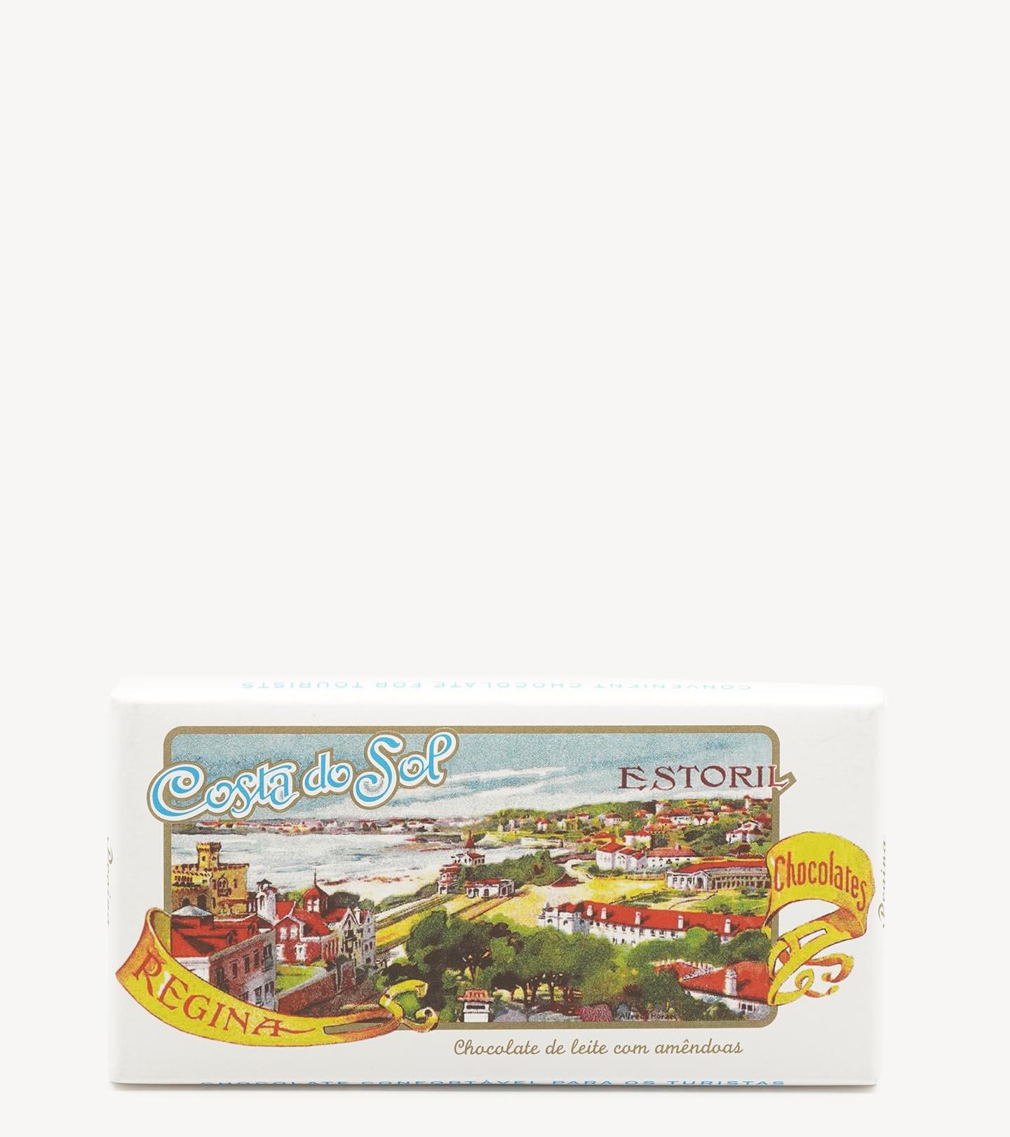 """Tablete de chocolate Sortida """"Turistas"""" Regina 100g 2 variação"""