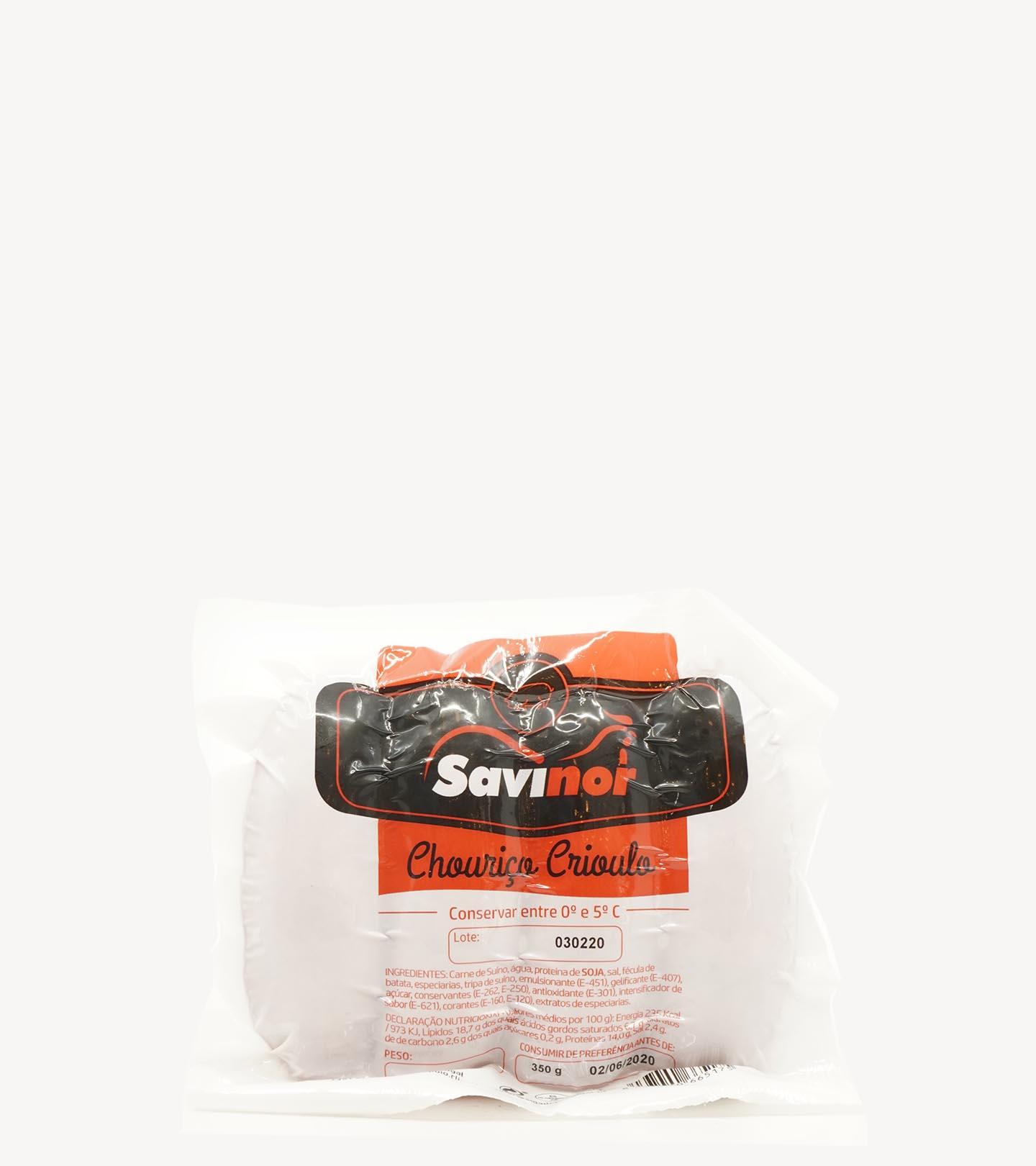 Salsichas de Churrasco Savinoir 350g