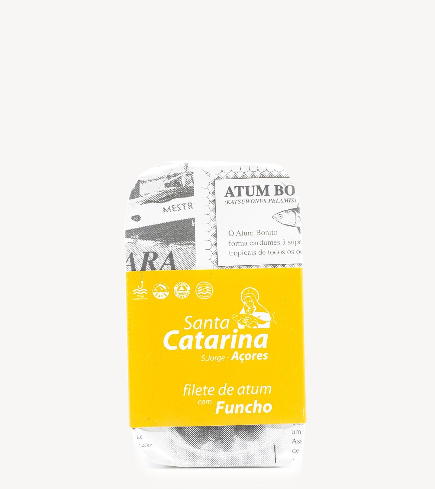 Filete de Atum c/ Funcho Santa Catarina 120g