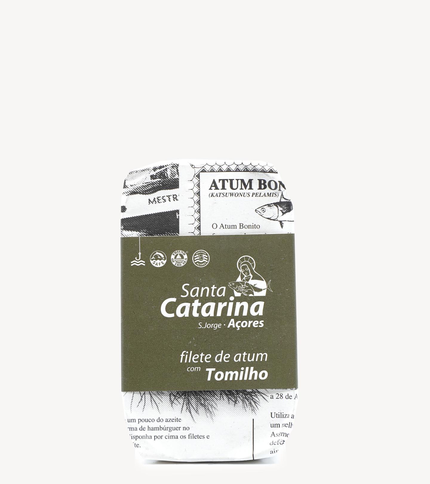 Filete de Atum c/ Tomilho Santa Catarina 120g