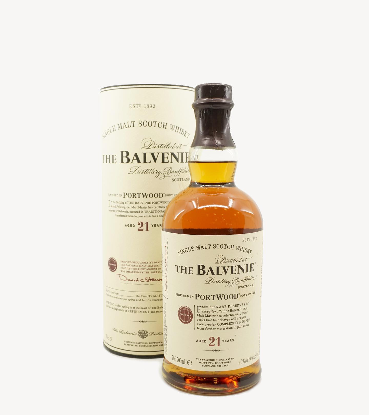 Whisky Malte Tje Balvenie 21 Anos Portwood 70cl