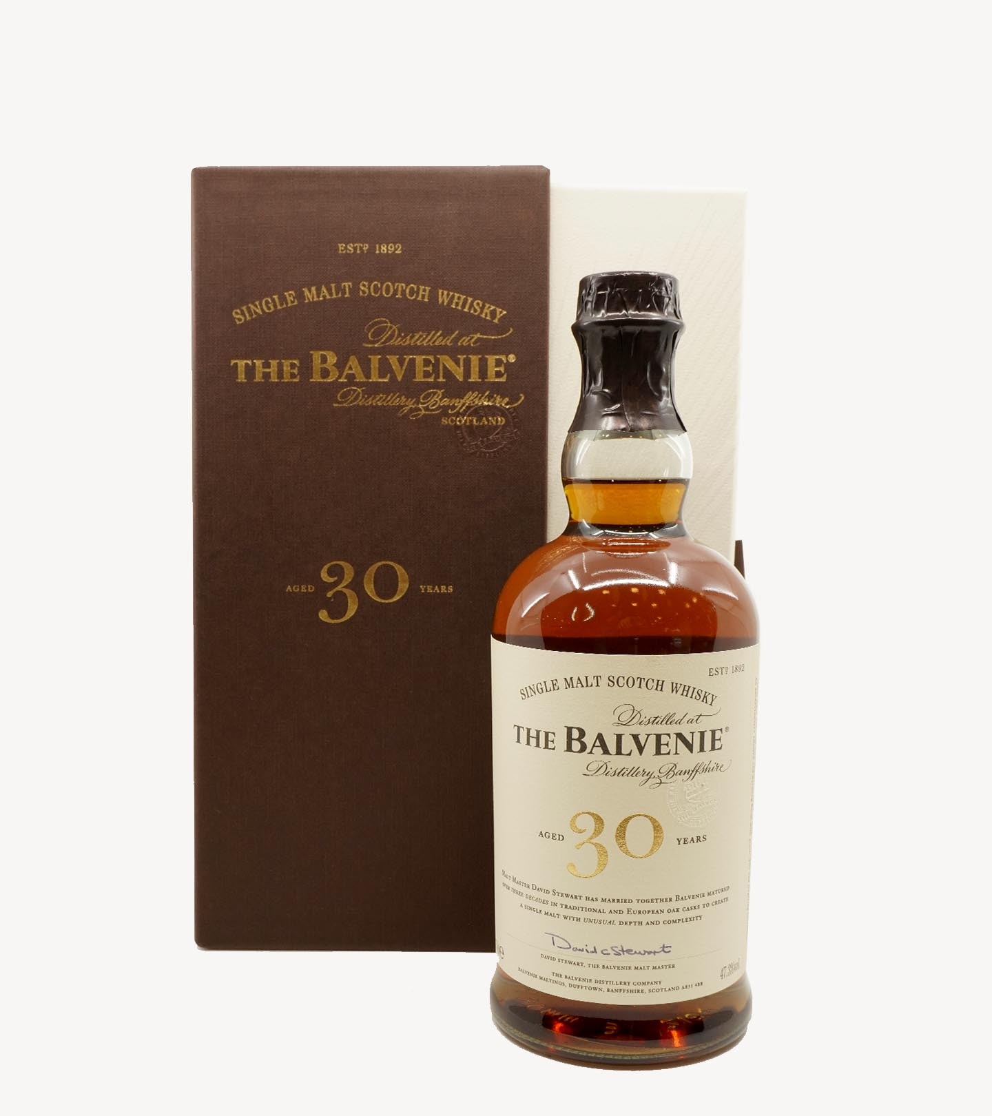 Whisky Malte The Balvenie 30 Anos 70cl