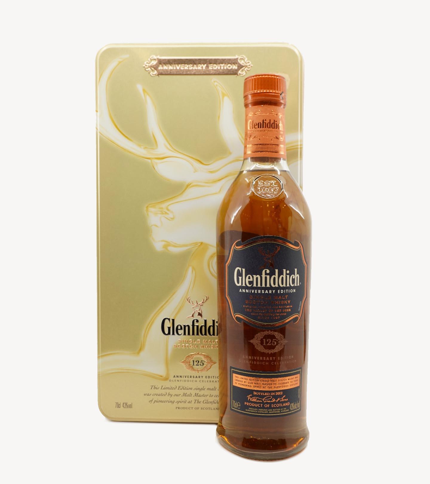 Whisky The Glenfiddich 125º Aniversário 70cl