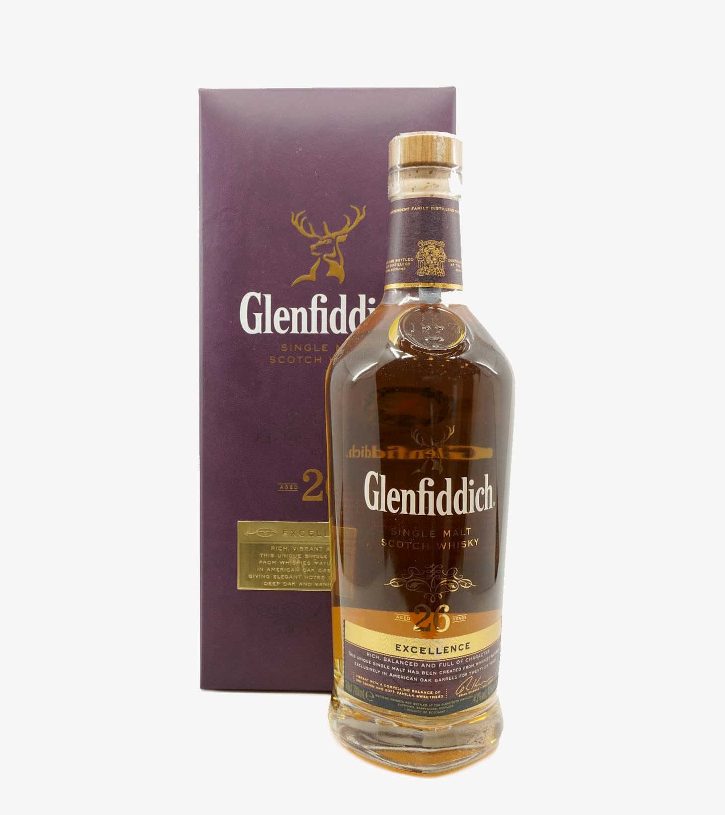 Whisky The Glenfiddich 26 Anos 70cl