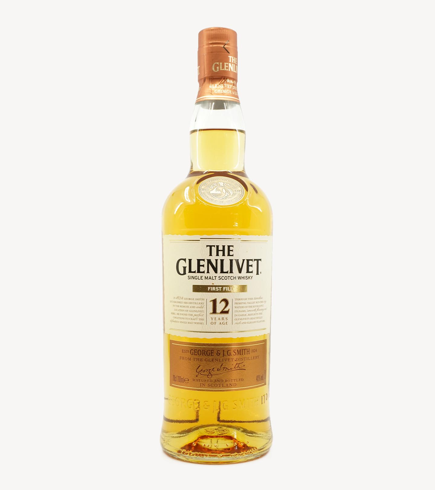 Whisky The Glenlivet 12 Anos First Fill 70cl
