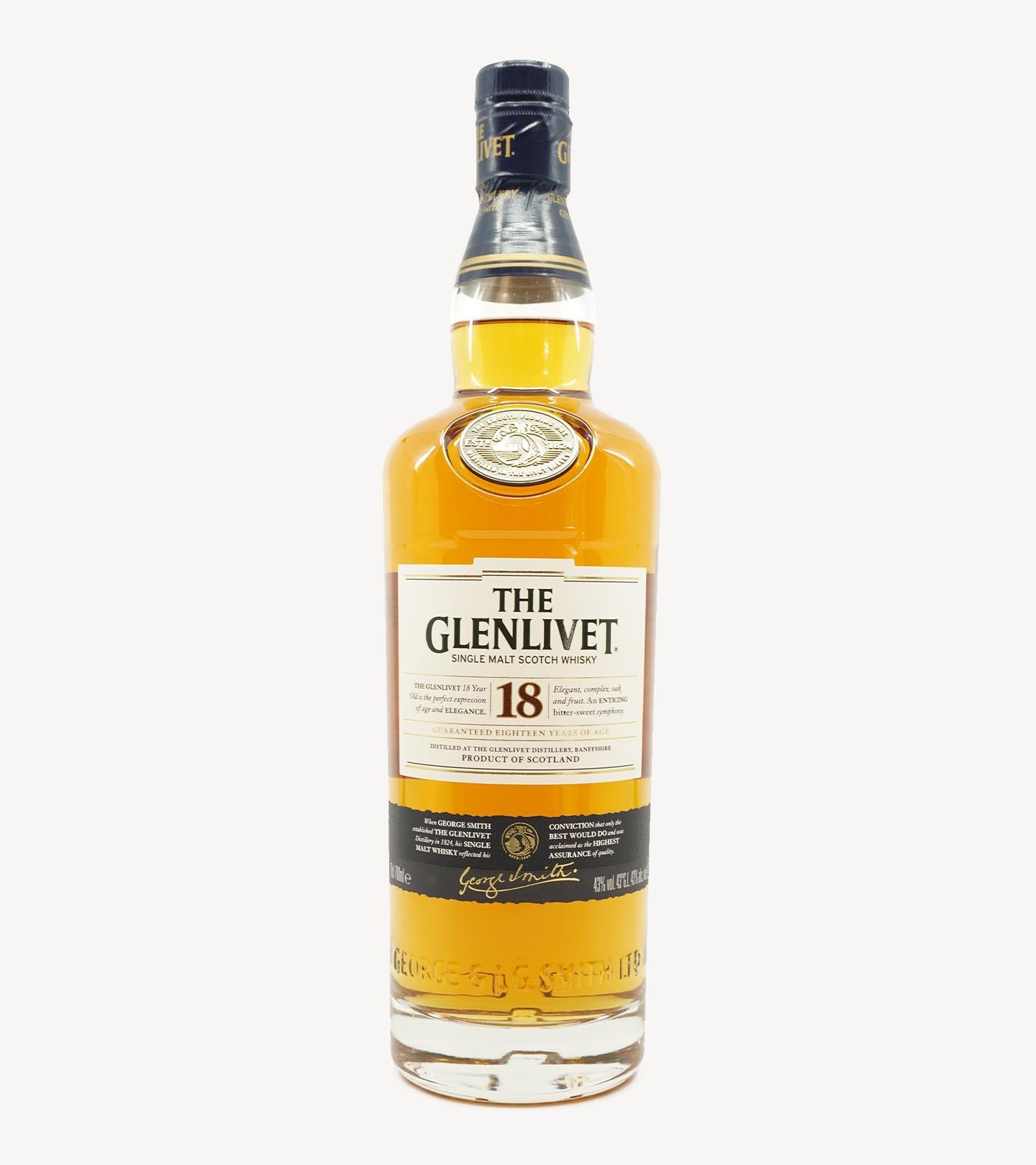Whisky The Glenlivet 18 Anos 70cl
