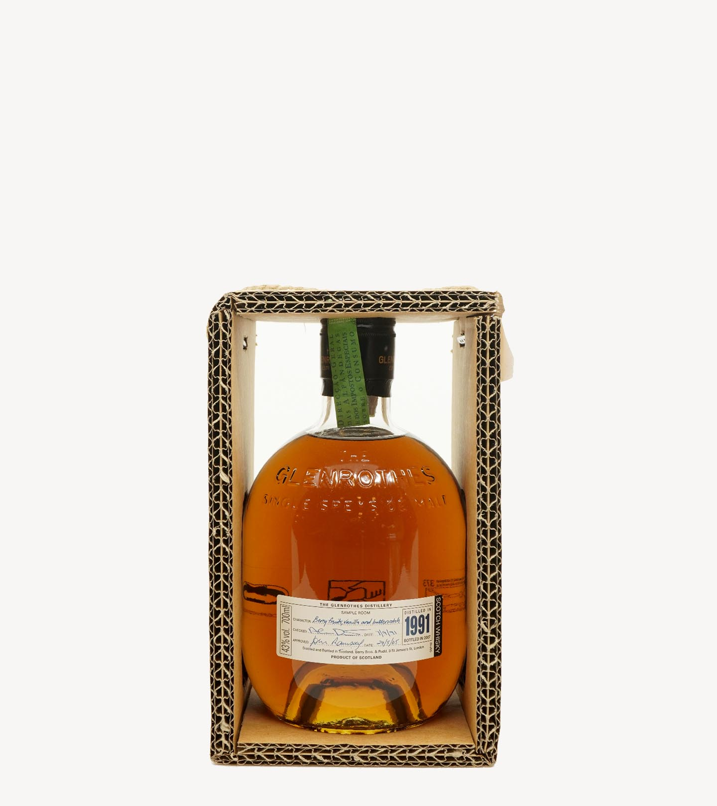Whisky The Glenrothes Vintage 1991 70cl